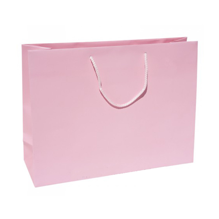 Large Baby Pink Paper Gift Bag