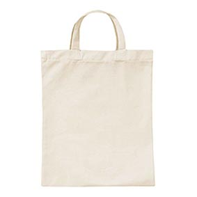 Medium with Natural Cotton Handles 100% Natural Cotton Bags