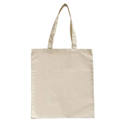 Large Natural Long Cotton Handles 100% Natural Cotton Bags