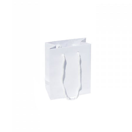 Ex Small White Matt Laminated Paper Bags