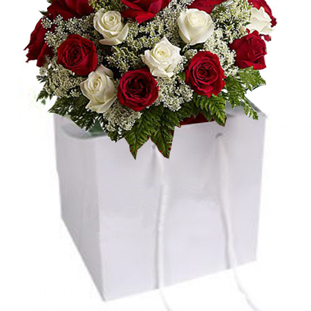 Large-White-Florist Paper Bag