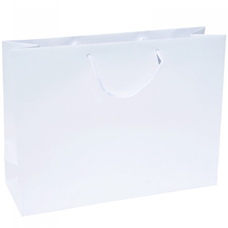 Extra Large White Paper Gift Bag