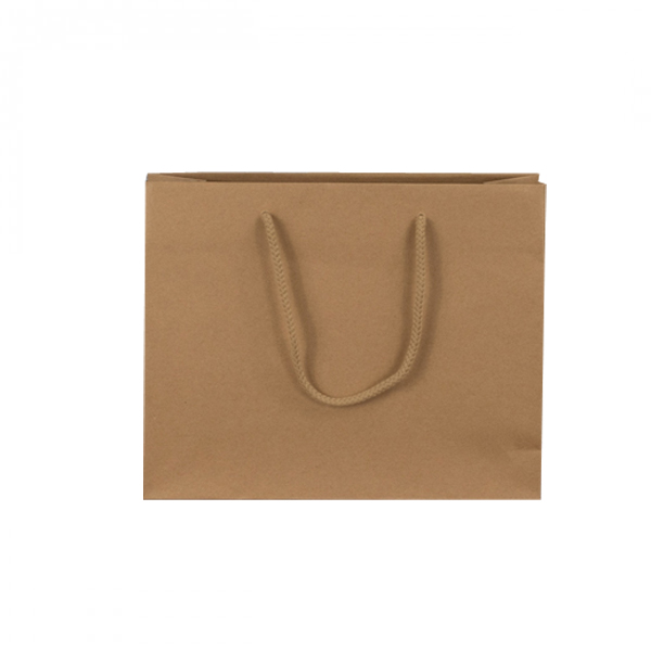 Medium Brown Recycled Paper Carrier Bags