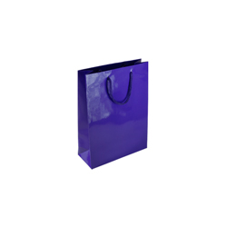 Extra Small Tiny-Purple-Paper Bag