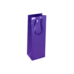 Wine Bottle Bag-Purple-Wine Bottle Bag