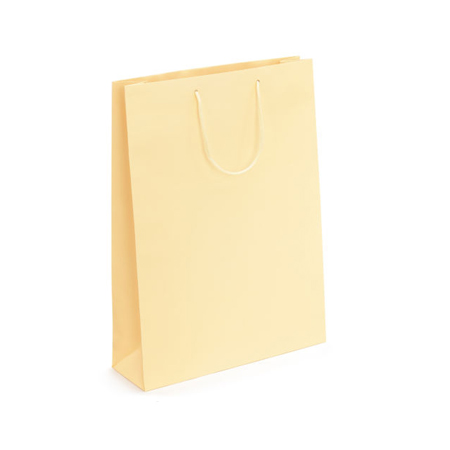 Medium Cream Matt Laminated Paper Bags