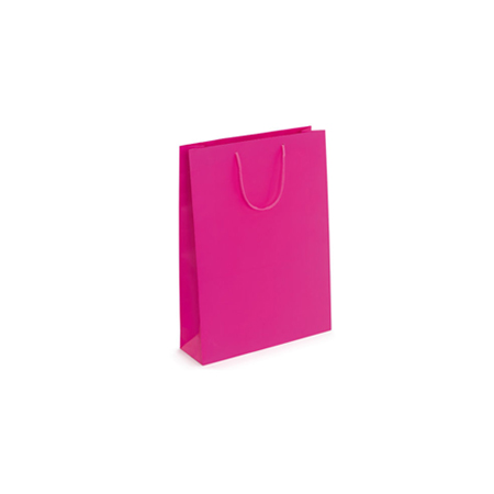 Ex Small-Fuchsia-Paper Bag