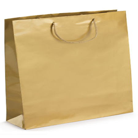 Ex Large-Gold-Paper Bag