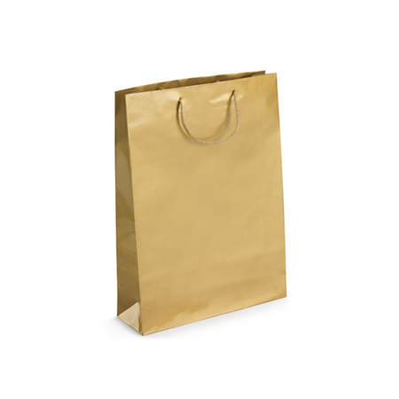 Small Gold Gloss Laminated Paper Bags