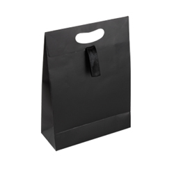 Medium Black Paper Gift Bag