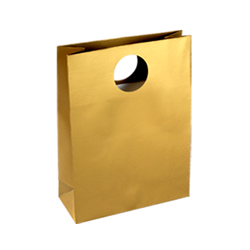 Medium Gold Paper Gift Bag