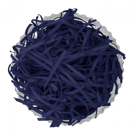-Navy-Shredded Kraft Paper