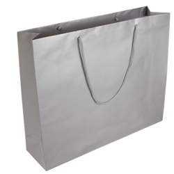 Extra Large Silver Paper Gift Bag