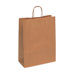 Large Brown Kraft Paper Bag