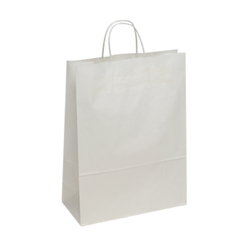 Large-White-Kraft Paper Bag
