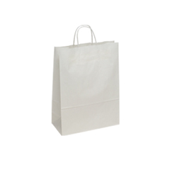 Small White Kraft Paper Bag