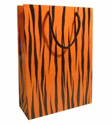 Medium Tiger Paper Gift bag