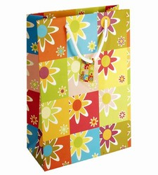 Large Flower Paper Gift Bag