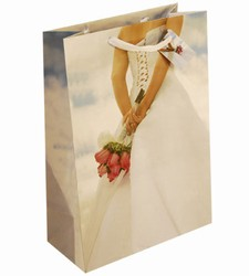 Large Wedding Bouquet Paper Gift Bag