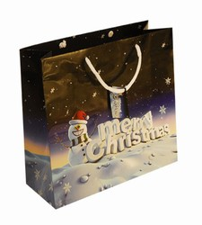 Large Merry Christmas Paper Gift Bag