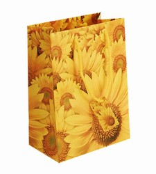 Medium Sunflower Paper Gift Bag