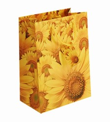 Large Sunflower Paper Gift Bag