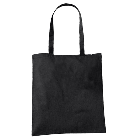 Large Black Cotton Bags