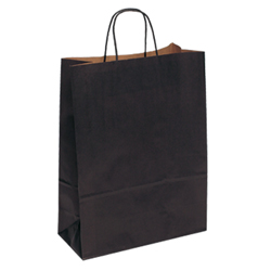 Extra Large Black Kraft Paper Bag