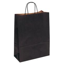 Extra Large Black Kraft Paper Bag