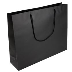 Medium Black Paper Gift Bag