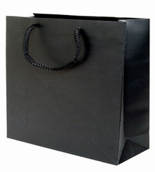 Large Black Paper Gift Bag