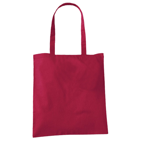 Large Cranberry Cotton Bags