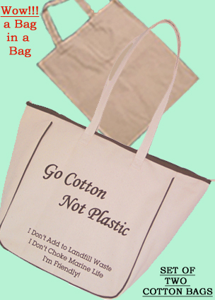 Natural Cotton Bag