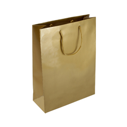 Medium Gold Paper Bag