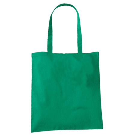 Large Green Cotton Bags