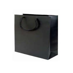 Medium Plus-Black-Paper Bags