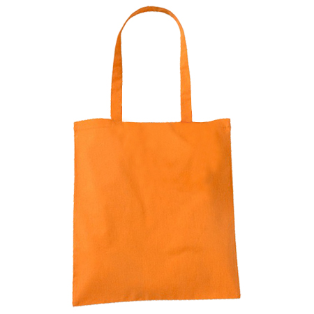 Large Orange Cotton Bags
