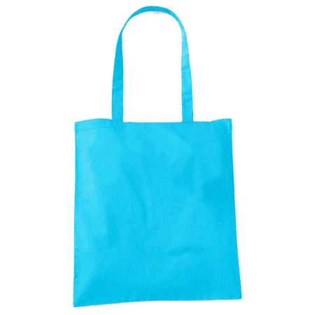 Large-Sky Blue-Cotton Bags
