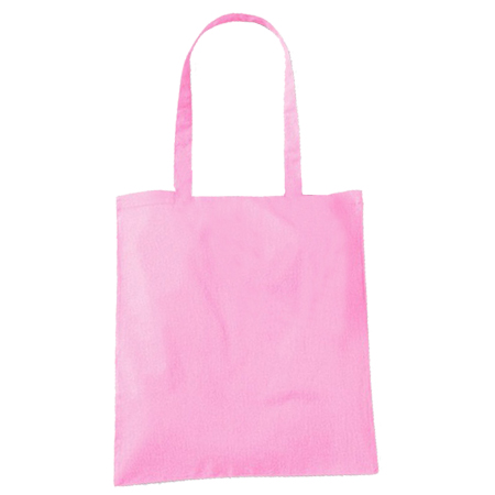 Large Pink Cotton Bags