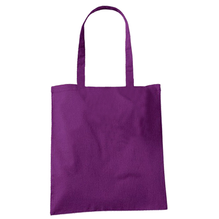 Large Purple Cotton Bags