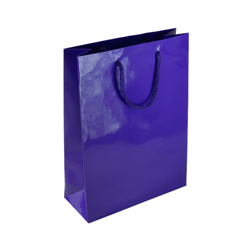 Medium Purple Paper Bag