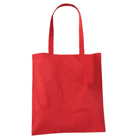 Large Red Cotton Bags