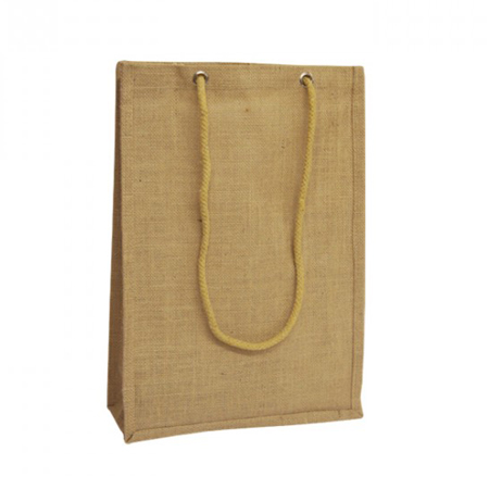 Natural Jute Bags Rope Handles