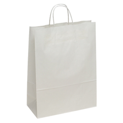 Extra Large White Kraft Paper Bag