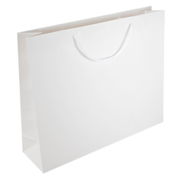 Medium White Paper Gift Bag