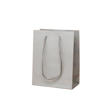 Extra Small Tiny Matt Laminated Rope Handle Paper Bags-11x15x7cm
