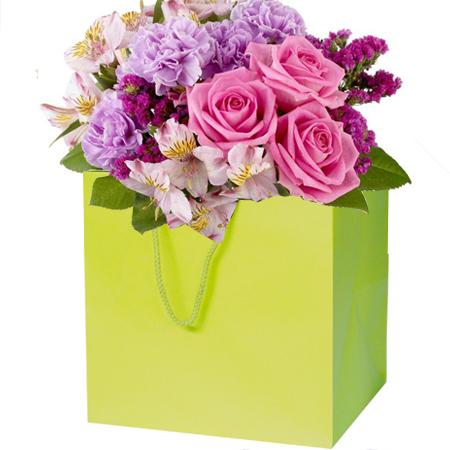 Florist Paper Carrier Bags