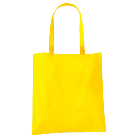 Yellow Cotton Bags Long Handles