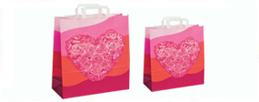 Gift Bags with Flat Tape Handles