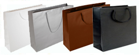 Large Matt Laminated Rope Handle Paper Bags-43x33x13cm